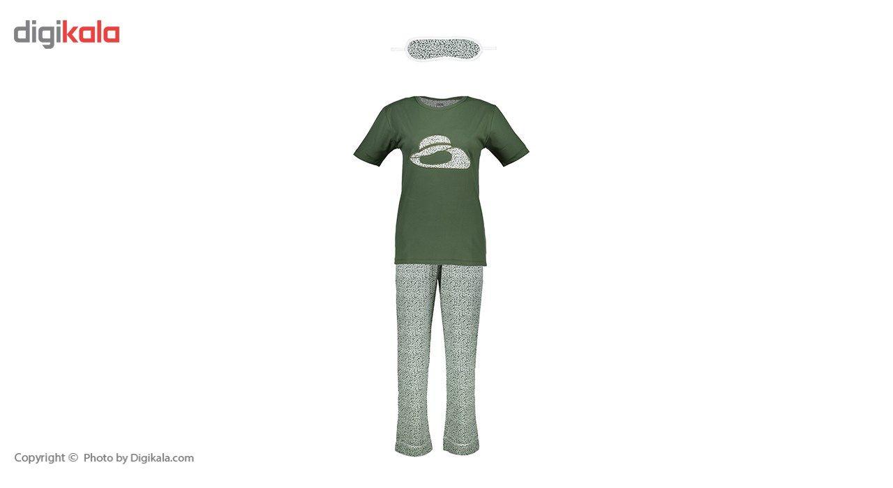 ست تی شرت و شلوار  زنانه ناوالس  کدSET01GN main 1 1