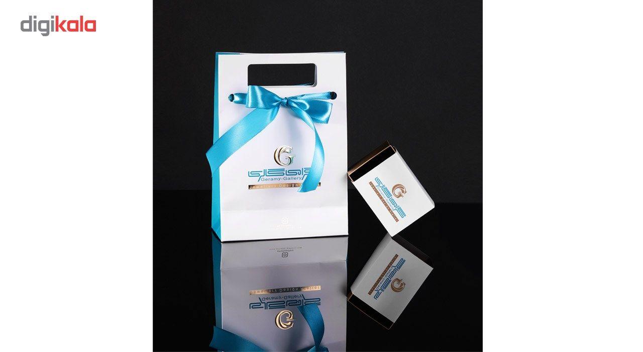 دستبند طلا 18 عیار گرامی گالری مدل B201 -  - 2