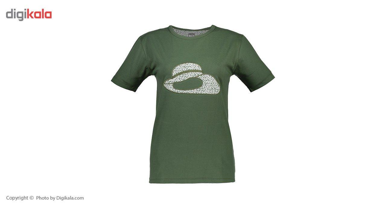 ست تی شرت و شلوار  زنانه ناوالس  کدSET01GN main 1 2