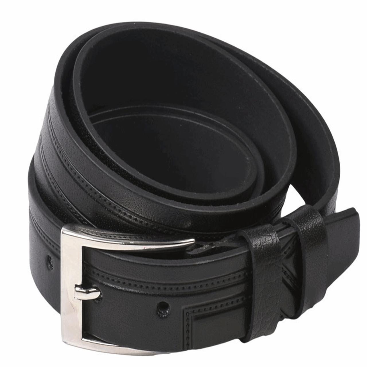 Zanco leather men's belt, K-2018 Model