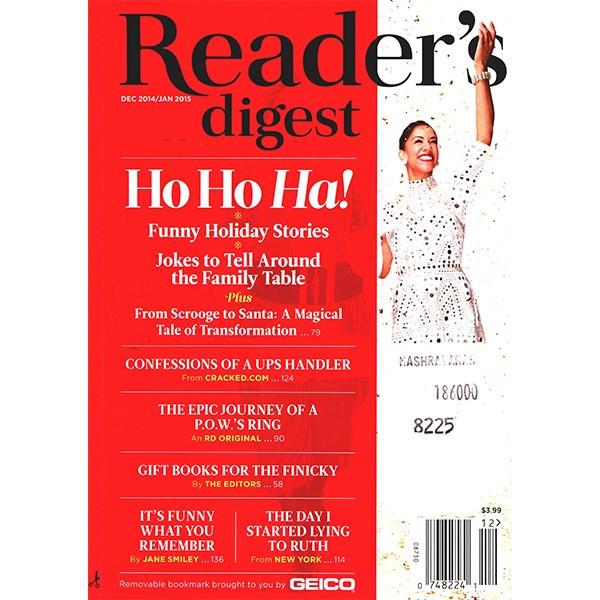 مجله ریدرز دایجست - دسامبر 2014