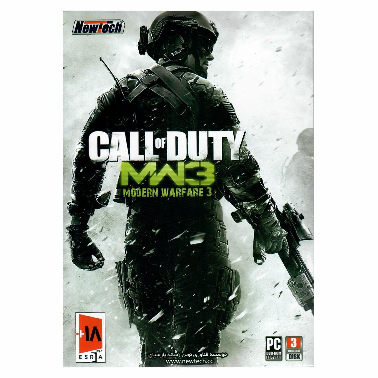 بازی کامپیوتری Call of Duty MW3 مخصوص PC