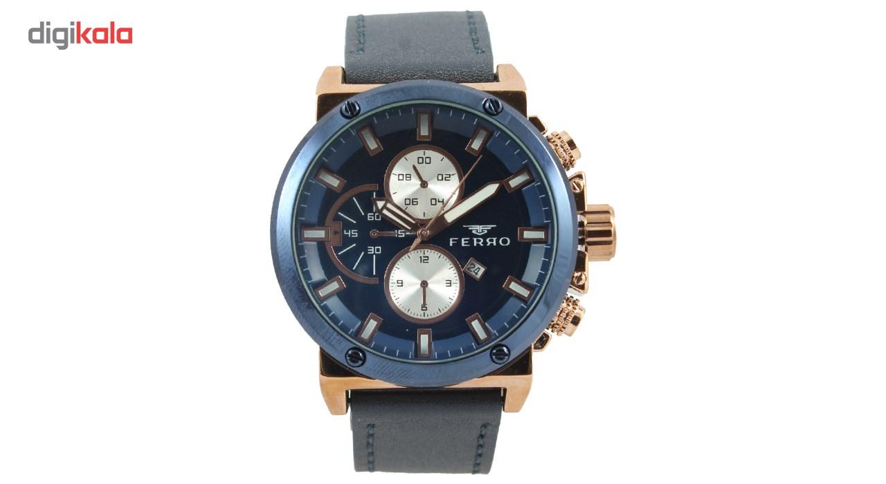 خرید ساعت مچی عقربه ای مردانه فرو مدل F61439-564-T