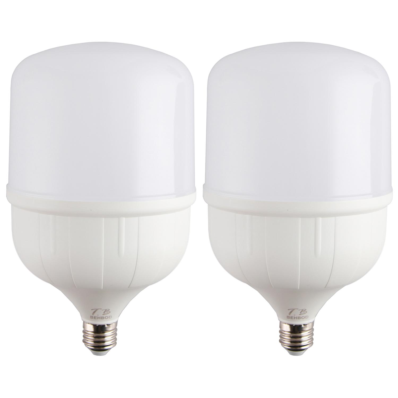 لامپ ال ای دی 50 وات تی .بی مدل V54 پایه E27 بسته 2 عددی