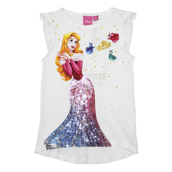تی شرت آستین کوتاه دخترانه دیزنی کد LU-9157357