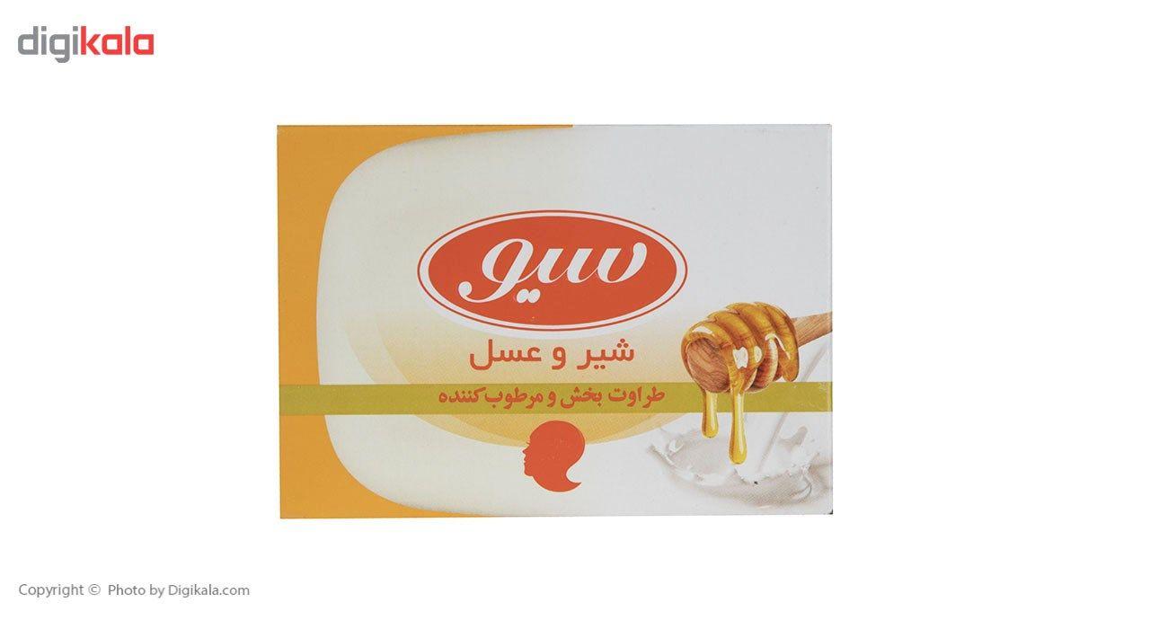 صابون حمام سیو مدل Milk And Honey مقدار 125 گرم main 1 1