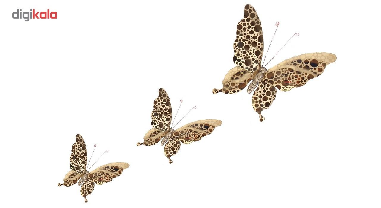 پروانه تزئینی مدل دایره ای کد ZH41