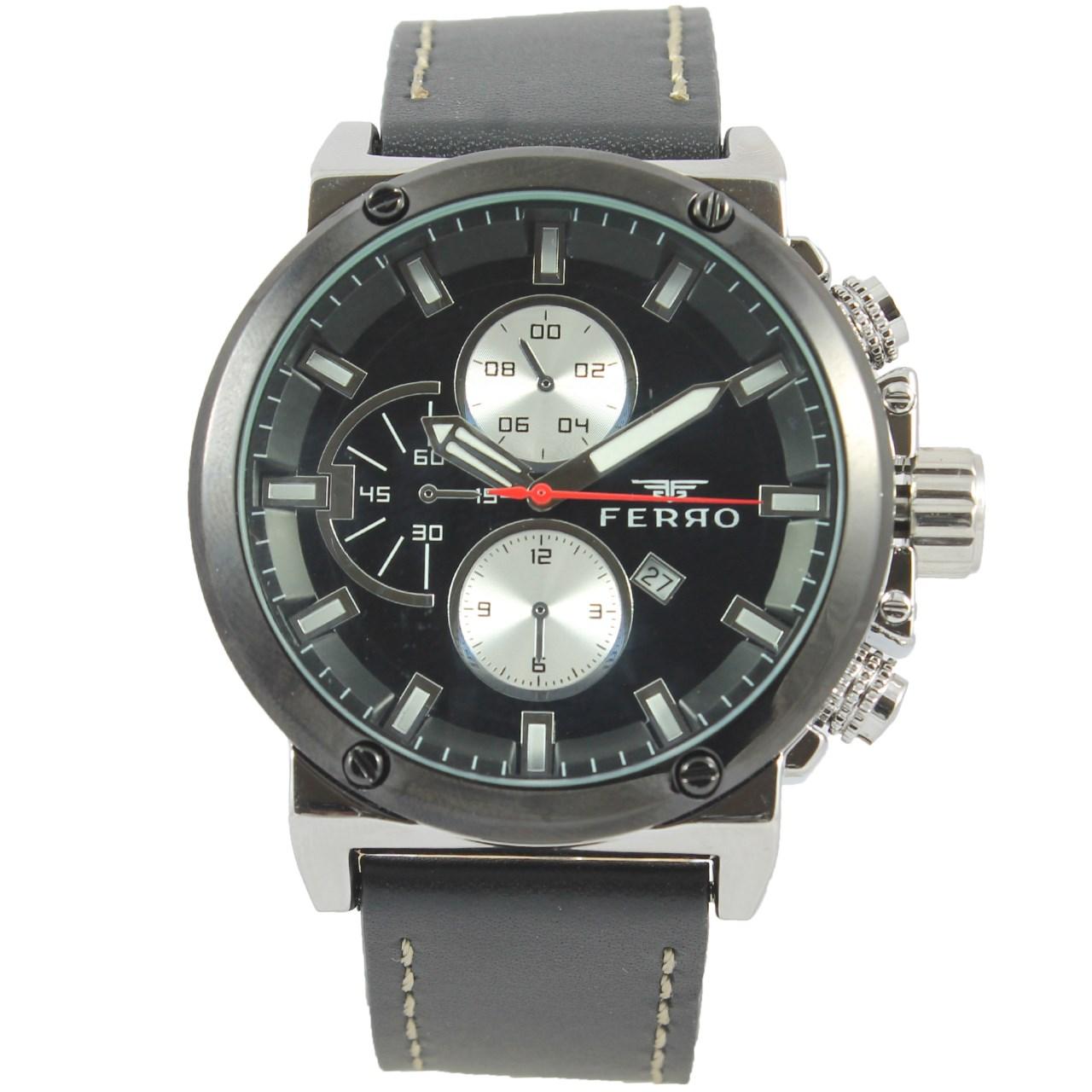 ساعت مچی عقربه ای مردانه فرو مدل F61439-564-J