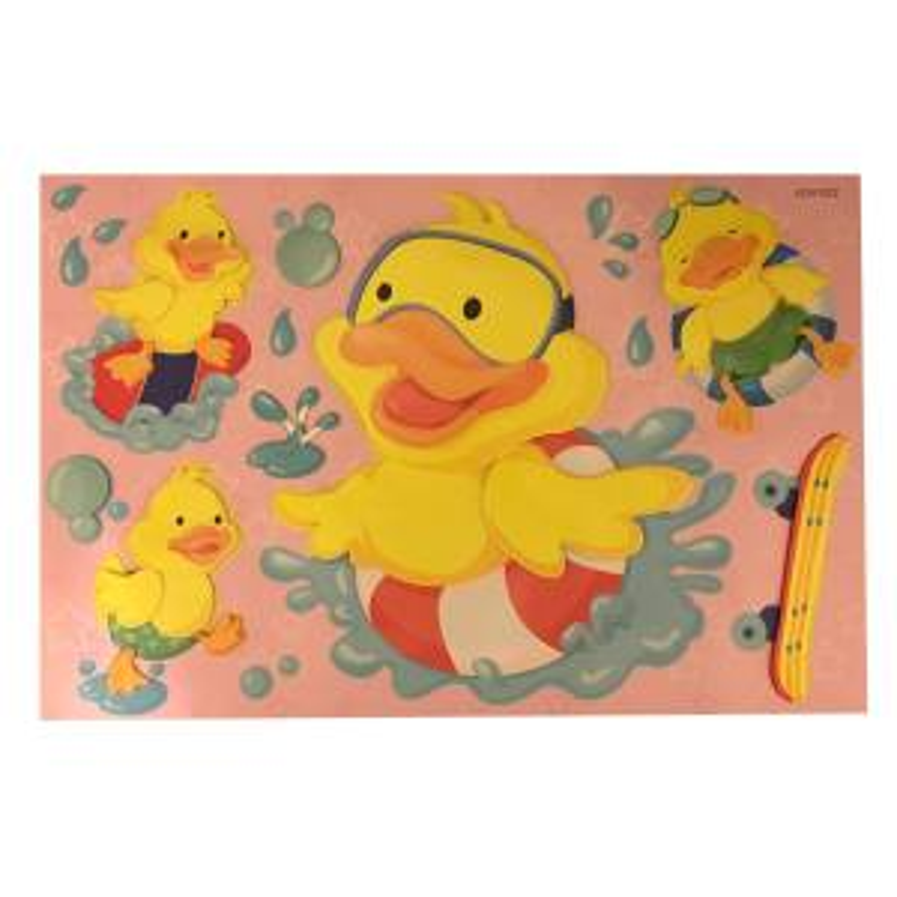 استیکر 3بعدی بانیبو مدل Ducky
