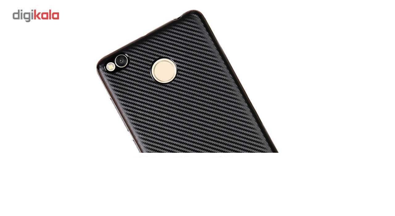 کاور محافظ ژله ای فیبر کربن مدل Slim مناسب برای گوشی شیاومی Redmi 3s Pro main 1 6