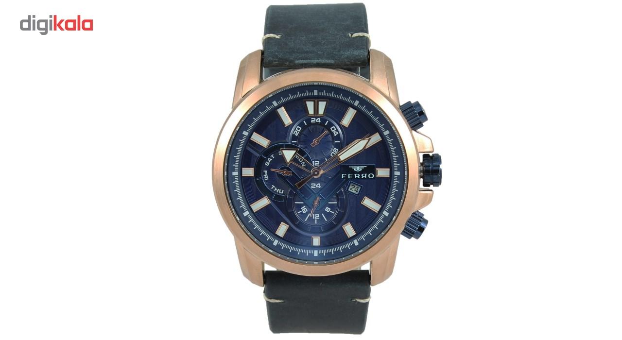 خرید ساعت مچی عقربه ای مردانه فرو مدل F61514-565-T