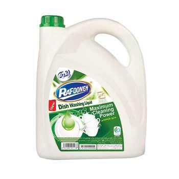 مایع ظرفشویی سبز رافونه مقدار 3750 گرم