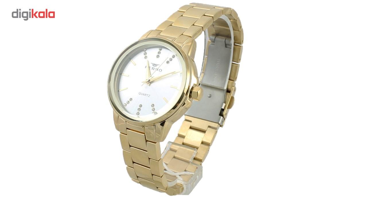 ساعت مچی عقربه ای زنانه فرو مدل F61424-575-B2