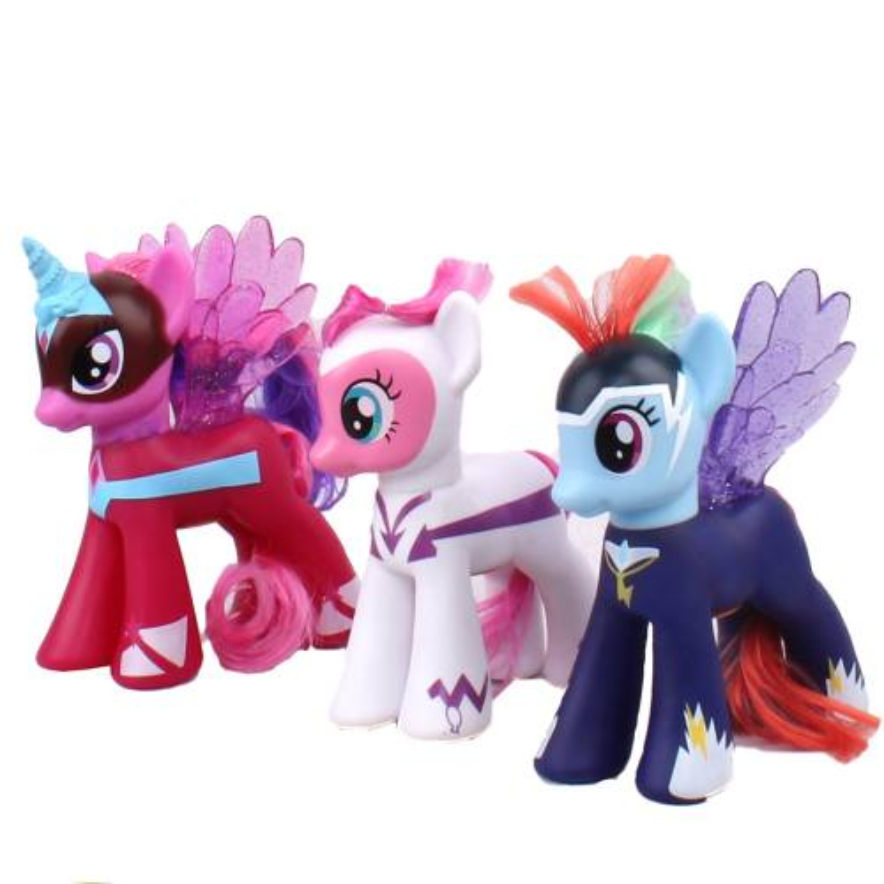 عروسک پونی مدل Super Horse بسته سه عددی