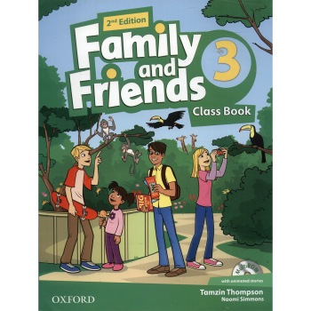 کتاب زبان Family And Friends 3 - Class Book + Workbook