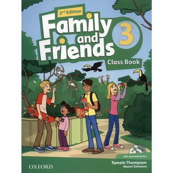 کتاب زبان Family And Friends 3 - Class Book + Workbook