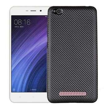کاور محافظ ژله ای فیبر کربن مدل Slim مناسب برای گوشی شیاومی Redmi 4a
