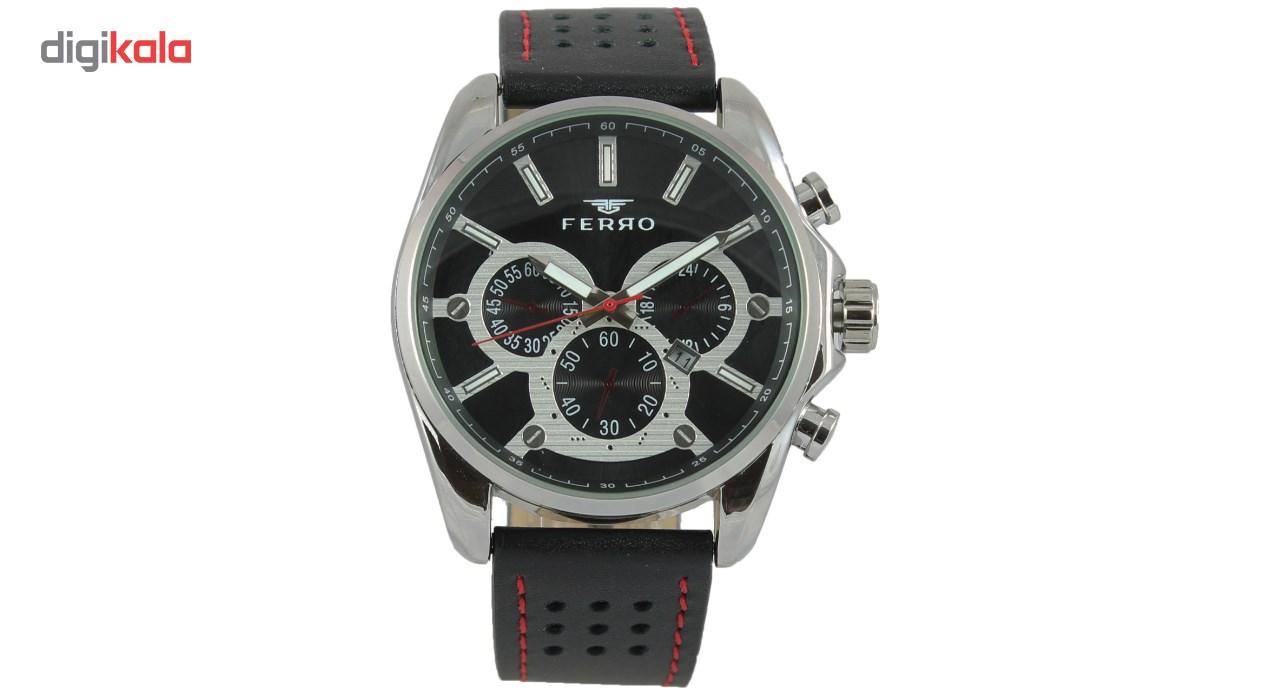 خرید ساعت مچی عقربه ای مردانه فرو مدل F61543-588-A