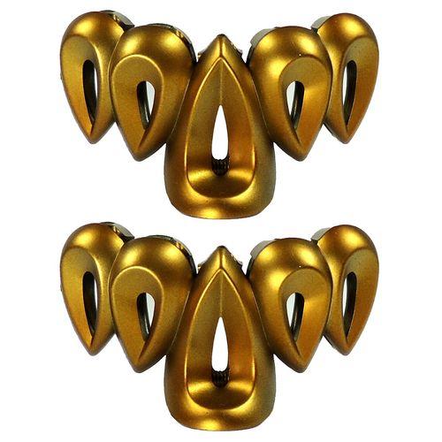 کلیپس آی جواهر طرح اشک کد k55133 بسته 2 عددی