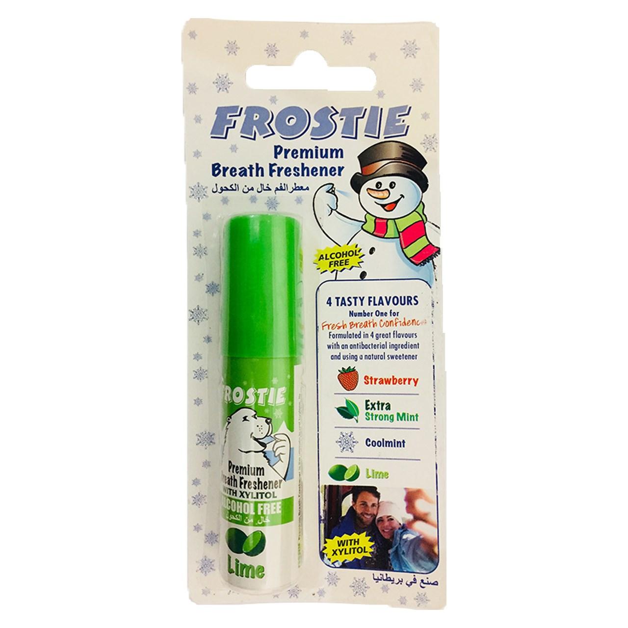 قیمت اسپری خوشبو کننده دهان فروستی مدل Lime حجم 20 میلی لیتر