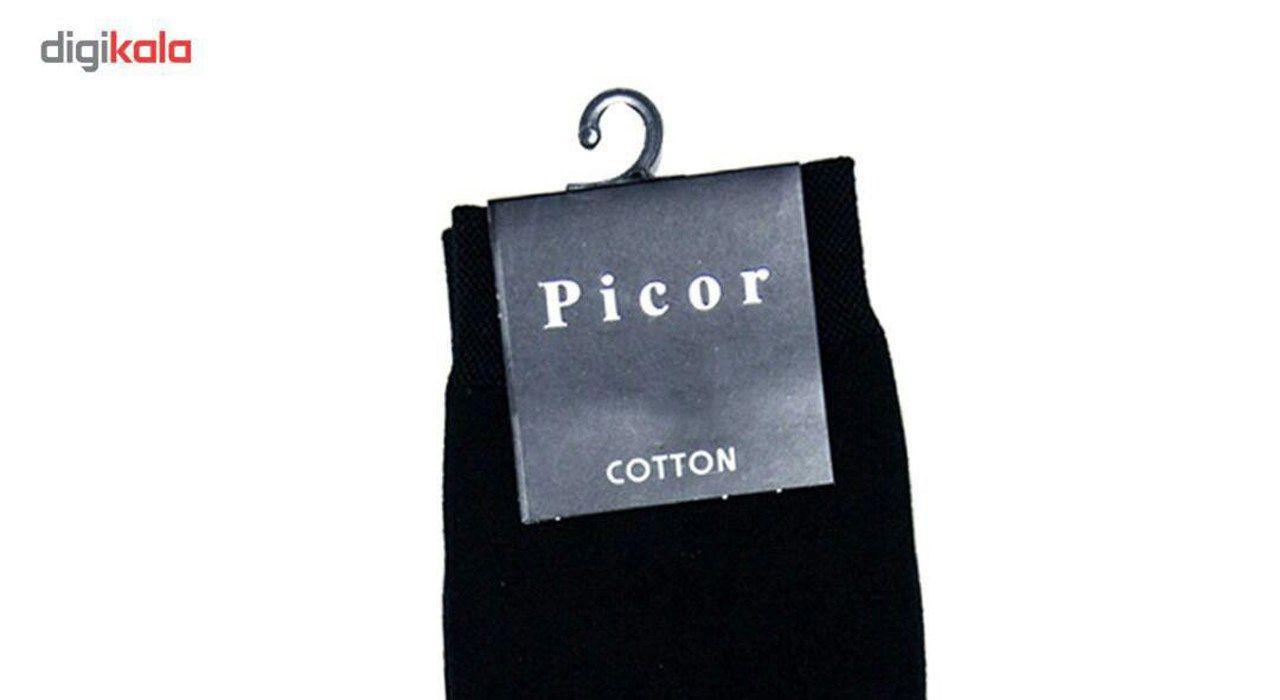 جوراب مردانه مدل پیکور کد 001 main 1 3
