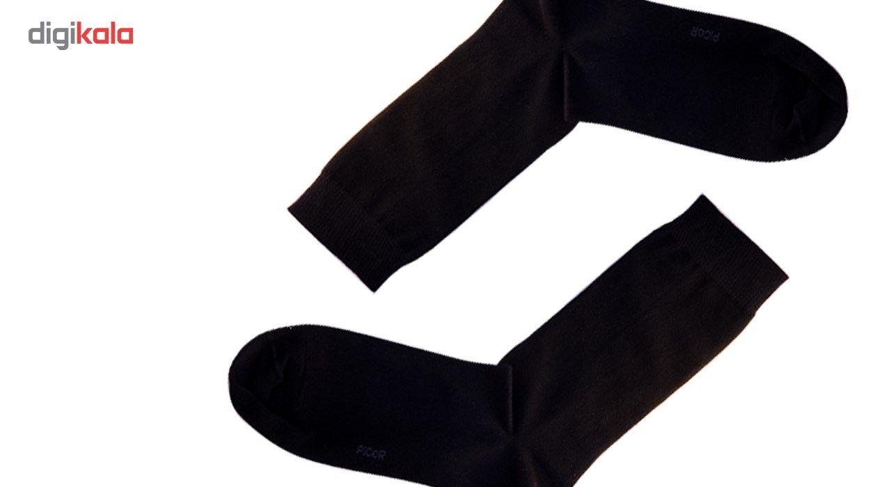 جوراب مردانه مدل پیکور کد 001 main 1 5