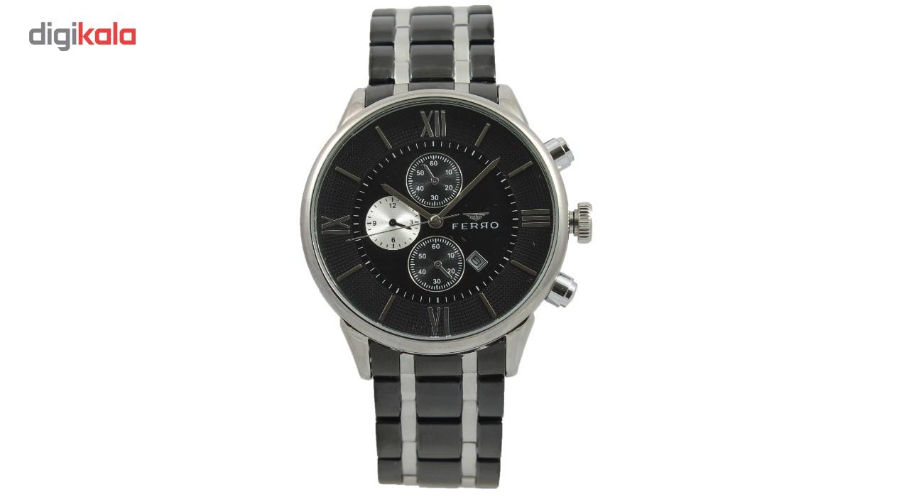 خرید ساعت مچی عقربه ای مردانه فرو مدل F61441A-627-J