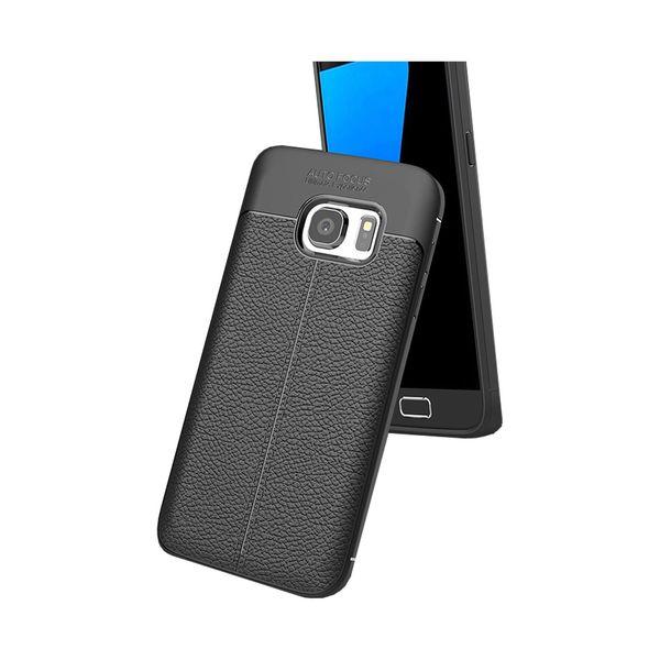 کاور ژله ای طرح چرم مناسب برای گوشی موبایل سامسونگ Note 5