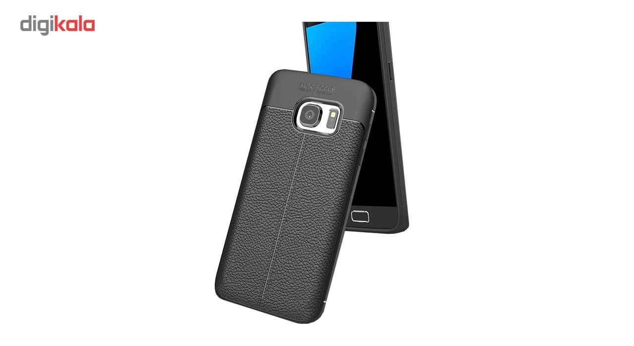 کاور ژله ای طرح چرم مناسب برای گوشی موبایل سامسونگ Note 5 main 1 1