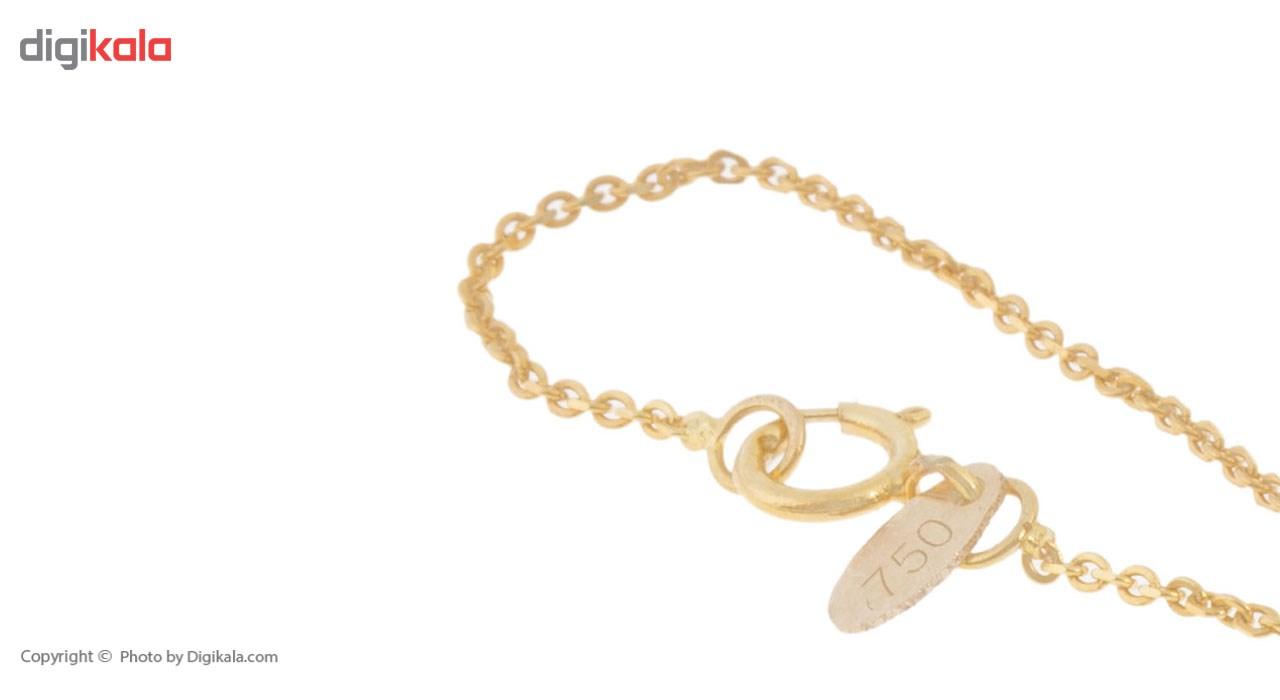 آویز ساعت طلا 18 عیار ماهک مدل MW0321 - مایا ماهک
