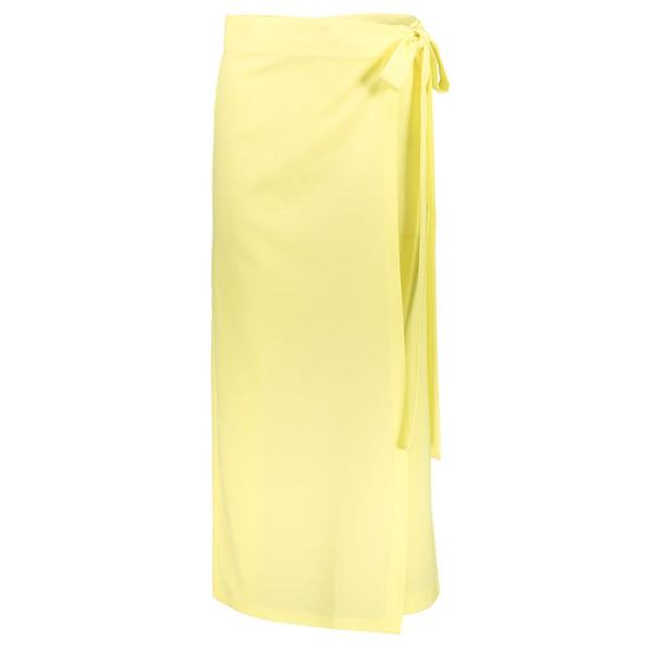 دامن شلواری گشاد زنانه لیمویی مدل 230
