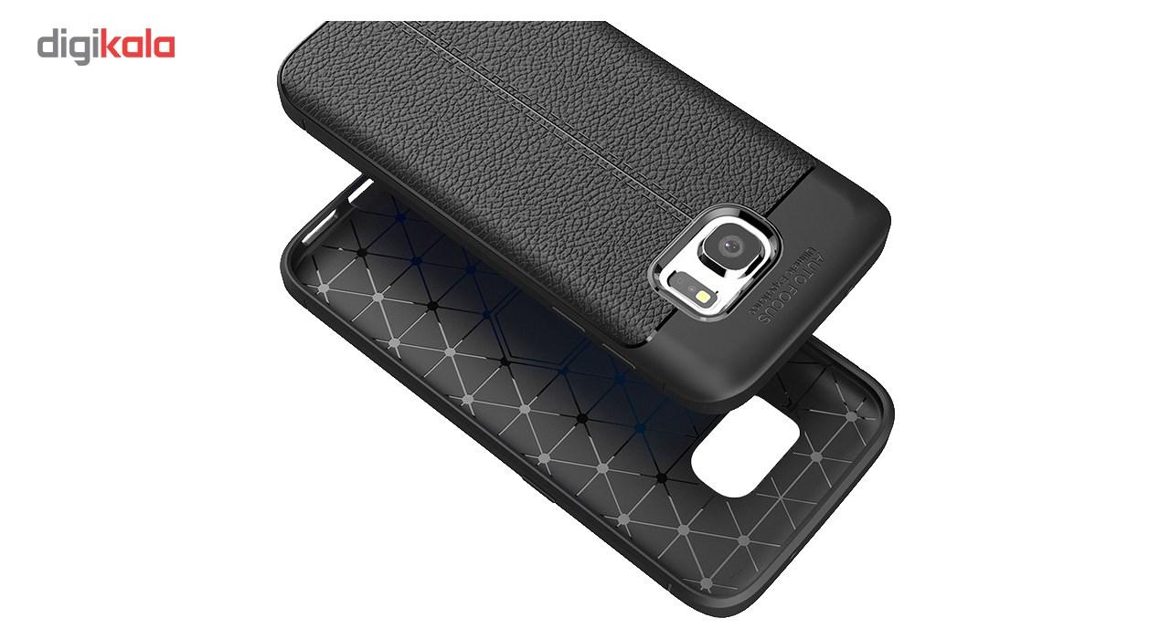 کاور ژله ای طرح چرم مناسب برای گوشی موبایل سامسونگ Note 5 main 1 2