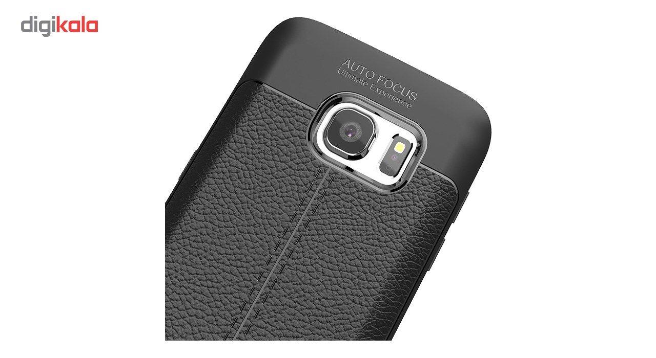 کاور ژله ای طرح چرم مناسب برای گوشی موبایل سامسونگ Note 5 main 1 3