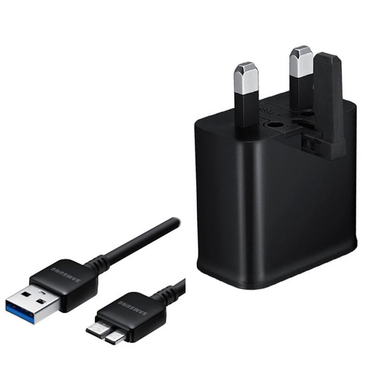 شارژر دیواری سامسونگ مدل EP-TA12UBE همراه با کابل USB Micro-B