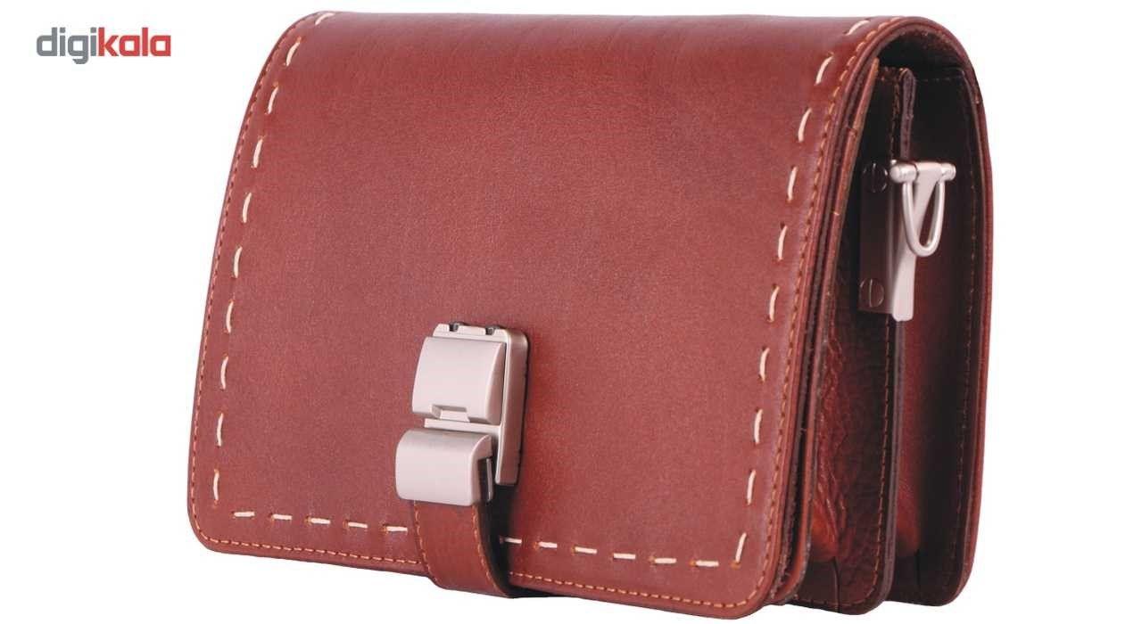 کیف دستی چرم ما مدل زیر بند قفل main 1 3