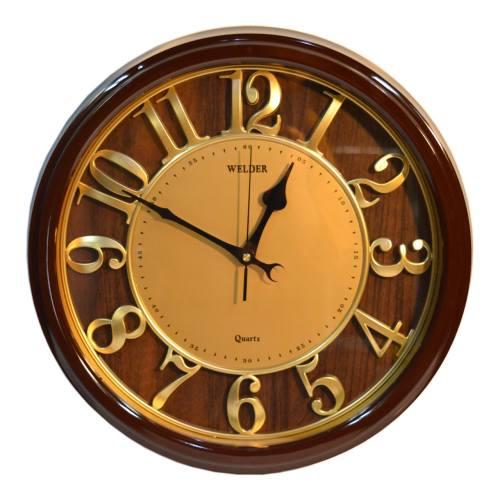 ساعت دیواری ولدر مدل Quartz gold