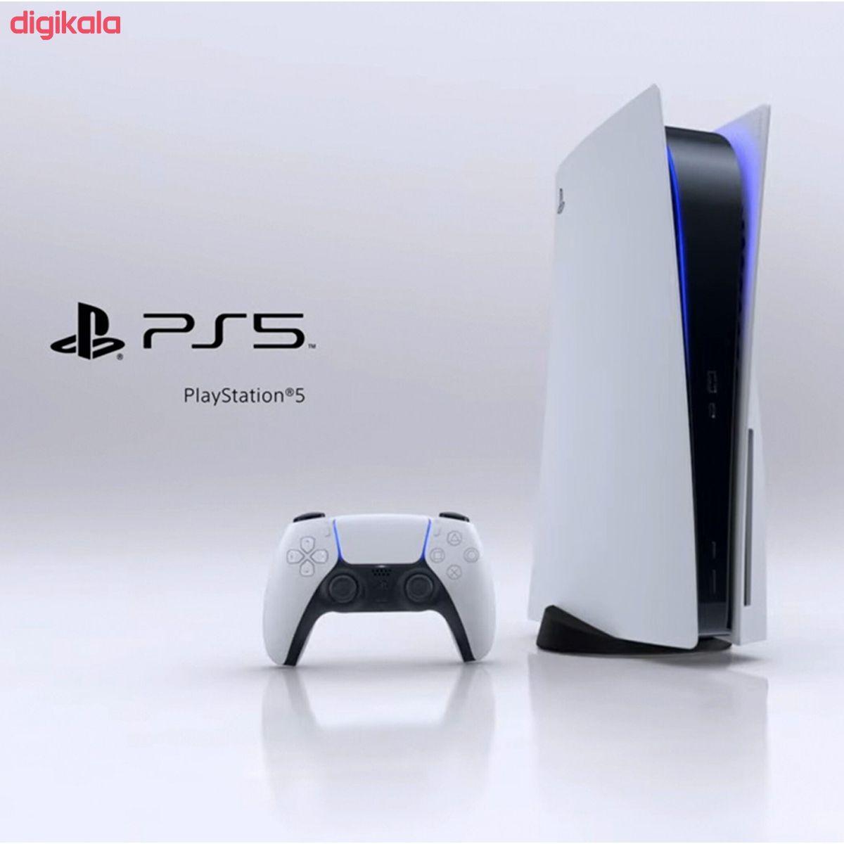 مجموعه کنسول بازی سونی مدل PlayStation 5 ظرفیت 825 گیگابایت به همراه دسته اضافی main 1 5