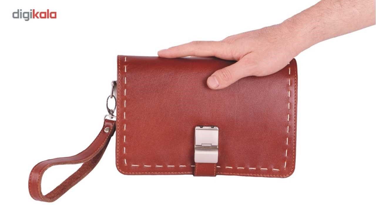 کیف دستی چرم ما مدل زیر بند قفل main 1 7
