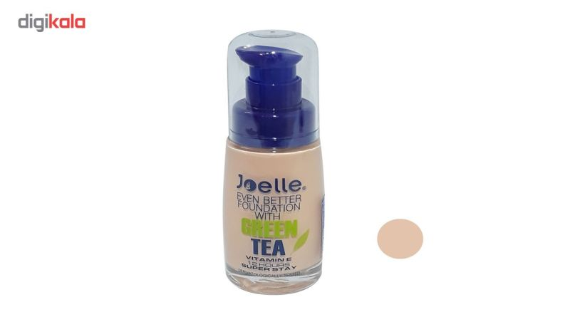 کرم پودر جویل مدل چای سبز شماره j01