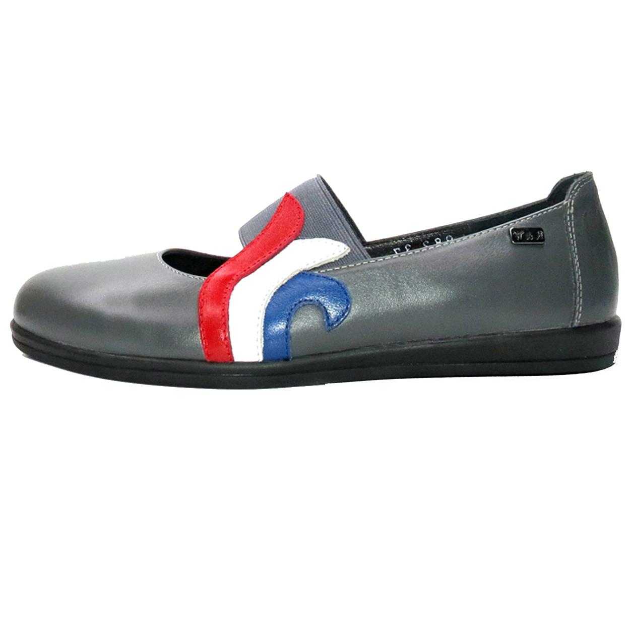 خرید                      کفش روزمره زنانه آر اند دبلیو مدل 982 رنگ طوسی