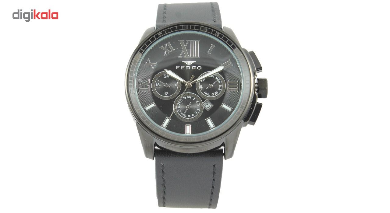 خرید ساعت مچی عقربه ای مردانه فرو مدل F61375-546-G