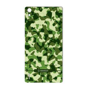 برچسب تزئینی ماهوت مدل Army-Pattern Design مناسب برای گوشی  Huawei Ascend P7