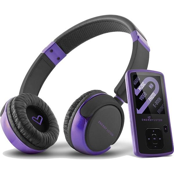 پخش کننده چند رسانه ای قابل حمل انرژی سیستم انرژی MP4 DJ 2 Violet Dream