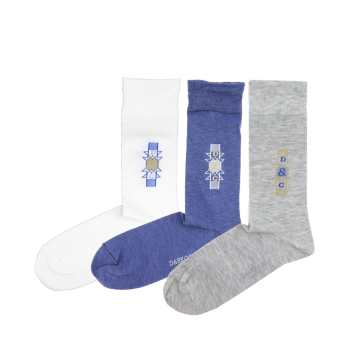 جوراب مردانه دارکوب مدل 301029 بسته 3 عددی