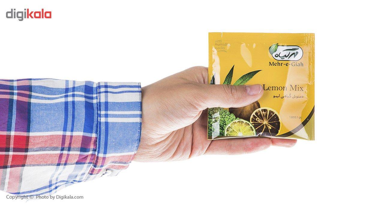 دمنوش گیاهی لیمو مهرگیاه بسته 14 عددی main 1 7