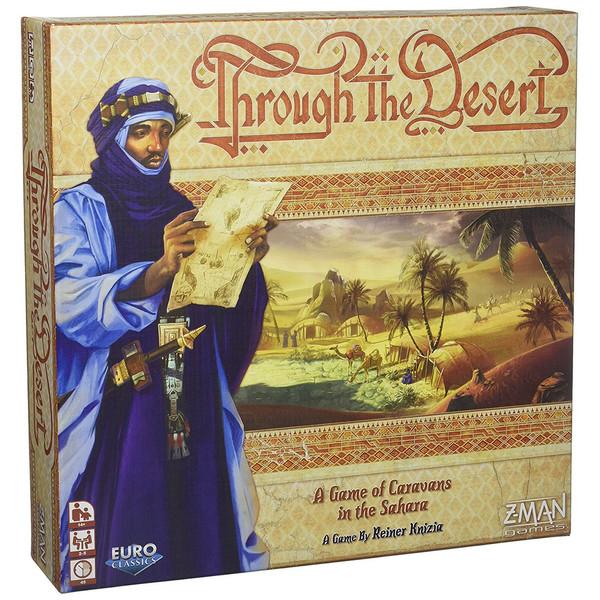 بازی رومیزی زدمن گیمز Through  The Desert