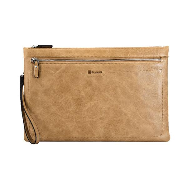 کیف آی کرر تمام چرم طبیعی مدل IB013 مناسب برای تبلت و لپ تاپ 13 اینچی