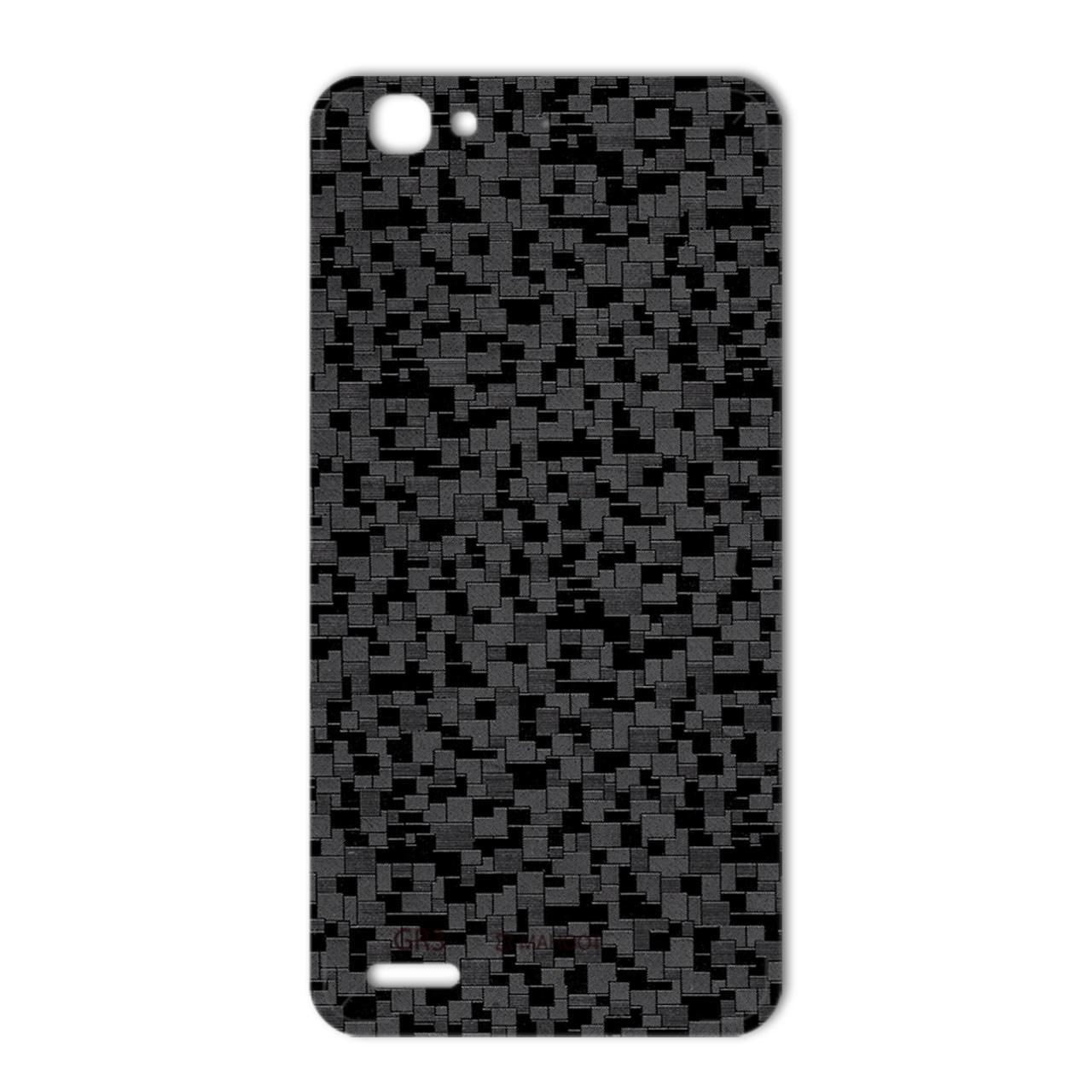 برچسب تزئینی ماهوت مدل Silicon Texture مناسب برای گوشی  Huawei GR3