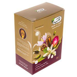 دمنوش گیاهی مخلوط معطر زعفرانی مهر گیاه مقدار 75 گرم