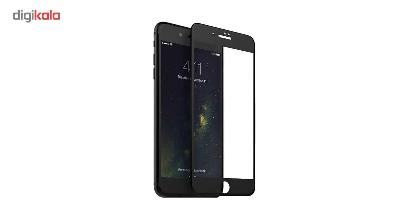 محافظ صفحه نمایش شیشه ای مات کوالا مدل Full Cover مناسب برای گوشی موبایل اپل آیفون 7Plus/8 Plus main 1 2
